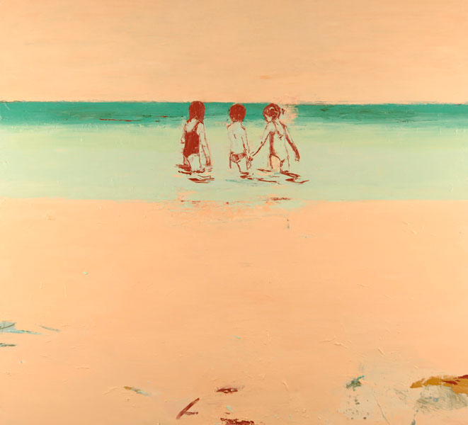 Calm Waters, 2005, Oil on canvas, 168 x 183cm