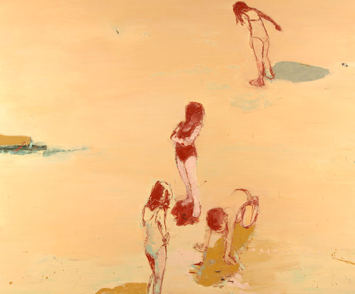 Golden Sands, 2004-05, Oil on canvas, 153 x 183cm
