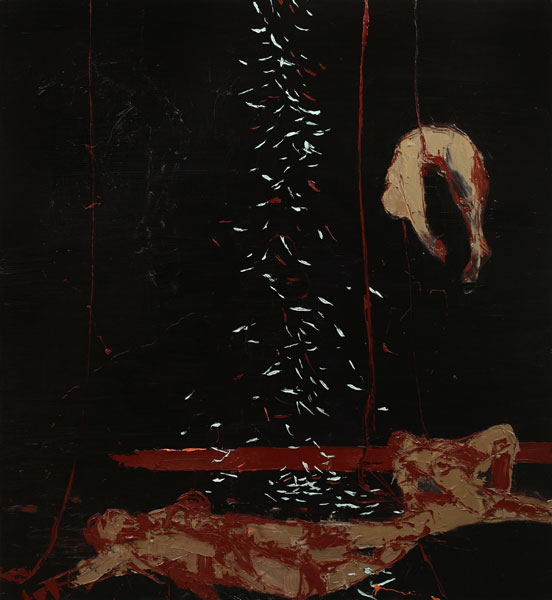 After the Battle, 2007, Oil on canvas, 183 x 168cm