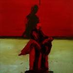Battle Blood, 2007, Oil on canvas, 183 x 168cm
