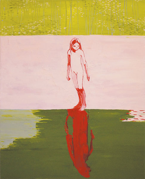 Her Moment of Wonder, 2011, Oil on canvas, 150 x 120cm