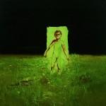 Luminous Green Boy, 2007, Oil on canvas, 122 x 122cm