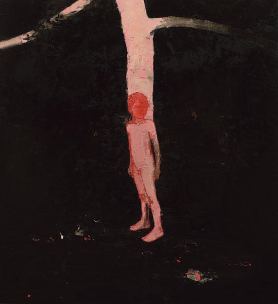 Pink Oak, 2006, Oil on canvas, 183 x 168cm