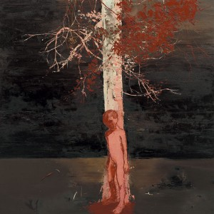 Shadow Branches, 2006, Oil on canvas, 152.5 x 152.5cm
