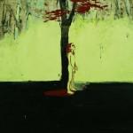 Tree Girl, 2006, Oil on canvas, 122 x 122cm