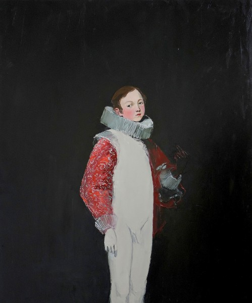 Whose Arms Contained a Black Crow, 2014, Oil on canvas, 120cm x 100cm