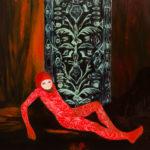 Applique Armour, 2015, Oil on canvas