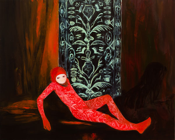 Applique Armour, 2015, Oil on canvas, 120 x 150 cm