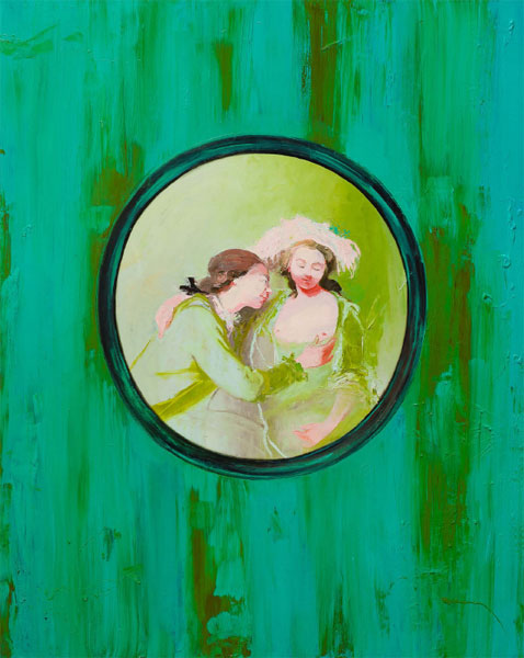 Boudoir Cabinet, 2015, Oil on Canvas, 150 x 120cm