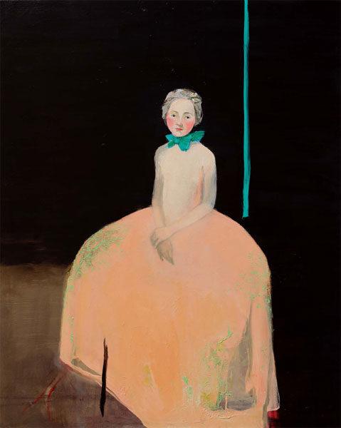 Flesh Dress, 2015, Oil on Canvas, 150 x 120cm