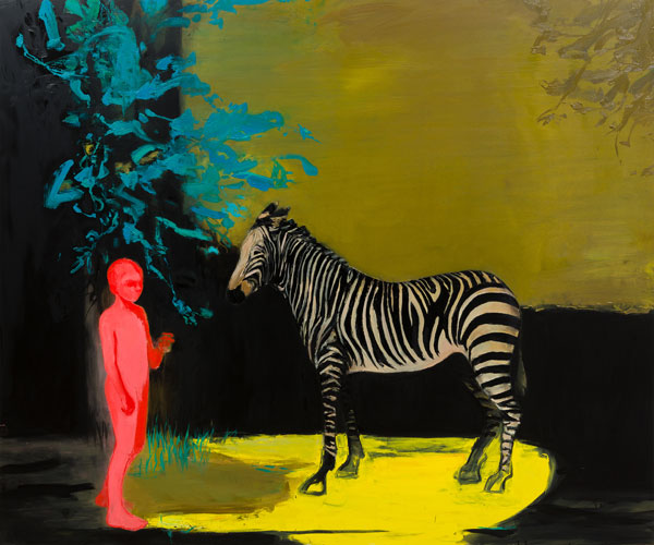 Lost in the Pleasure Gardens, 2016, Oil on canvas