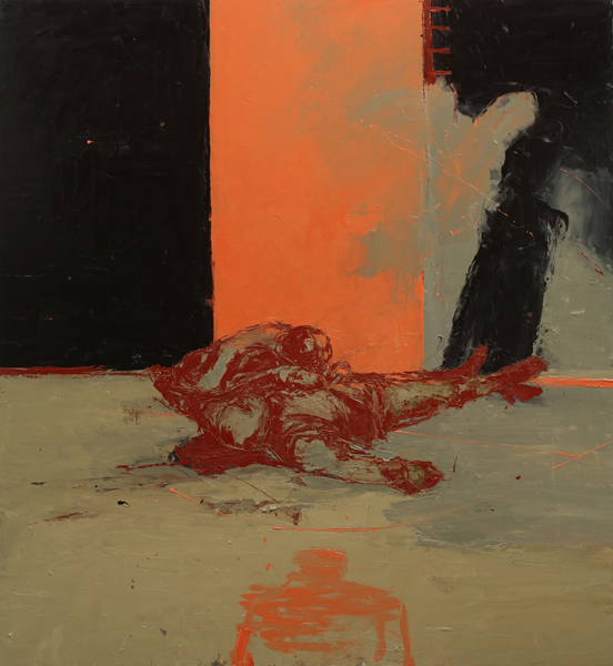 Blood Ties, 2007, Oil on canvas, 183 x 168cm