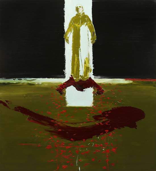 Royal Blood, 2007, Oil on canvas, 183 x 168cm