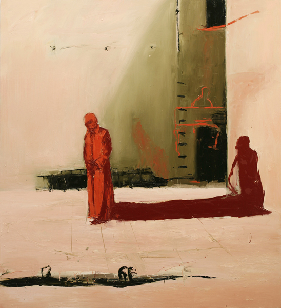 Shadow of a King, 2007, Oil on canvas, 183 x 168cm