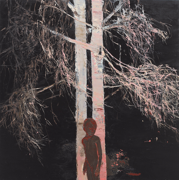 Silver Birch, 2006, Oil on canvas, 122 x 122cm